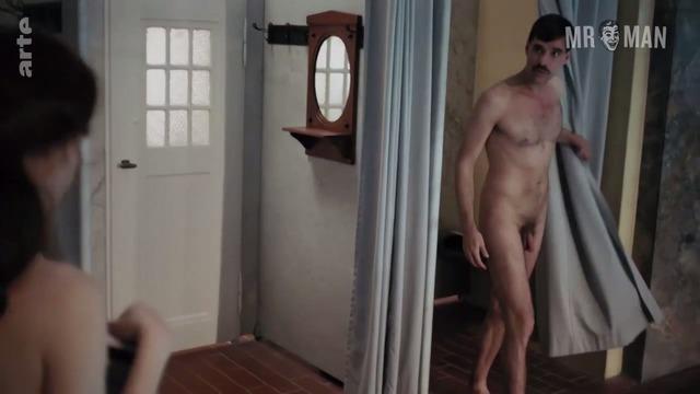 Nude lesbian workout