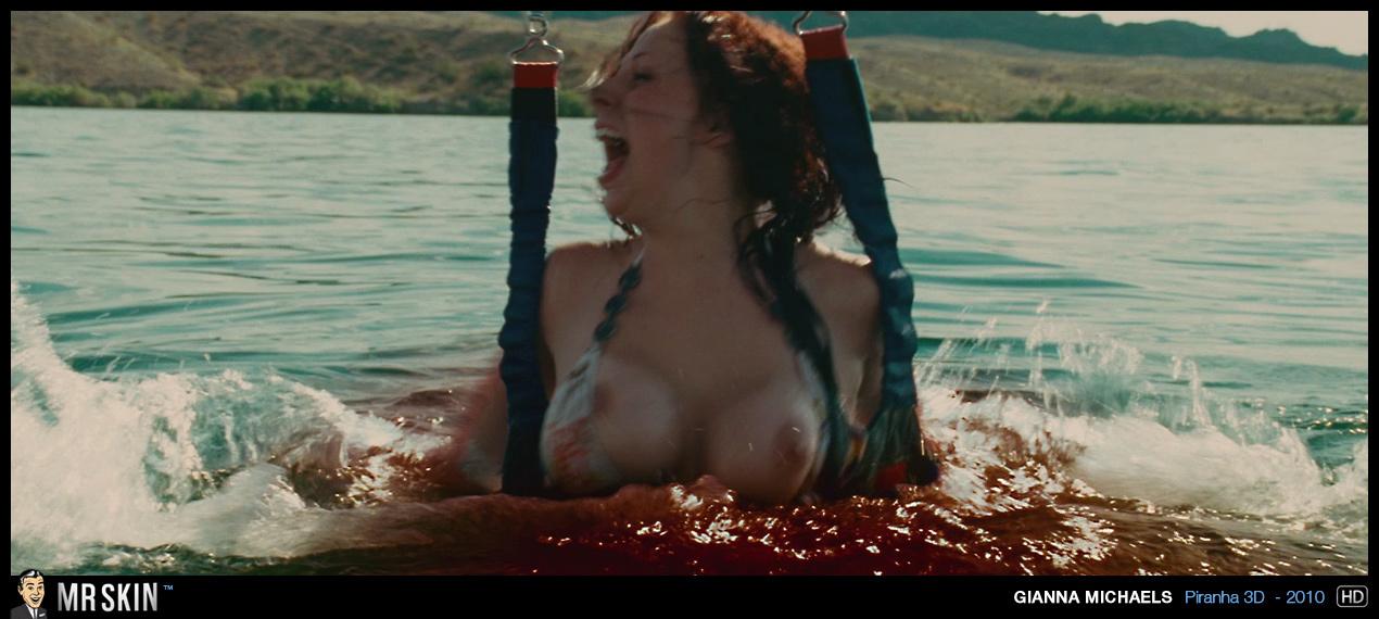 Pirahna nude scenes