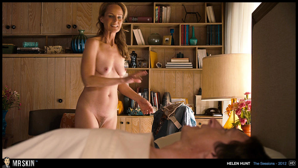 Touching her nudist father