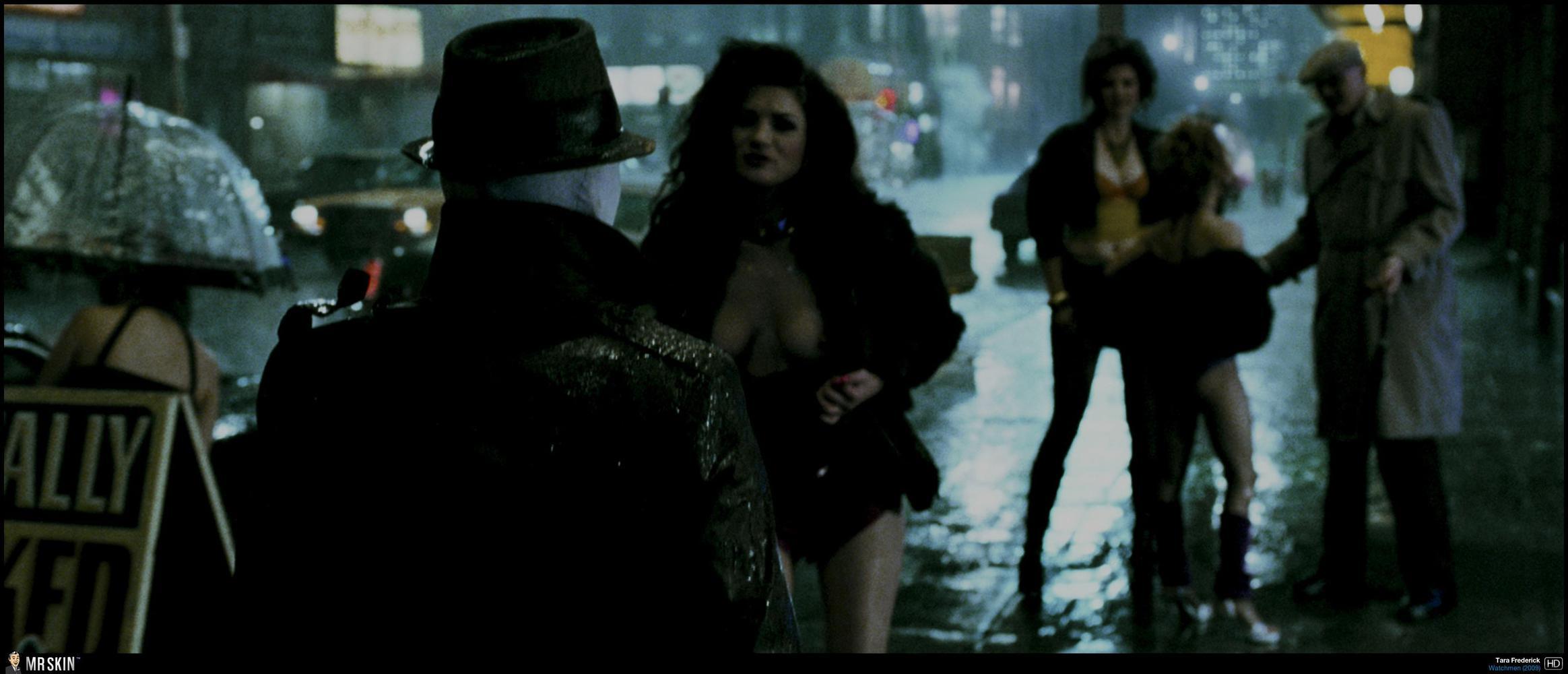 Nude scene in watchmen