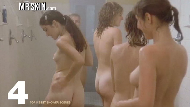 Nude shower scenes