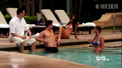 From burn notice nude Girl